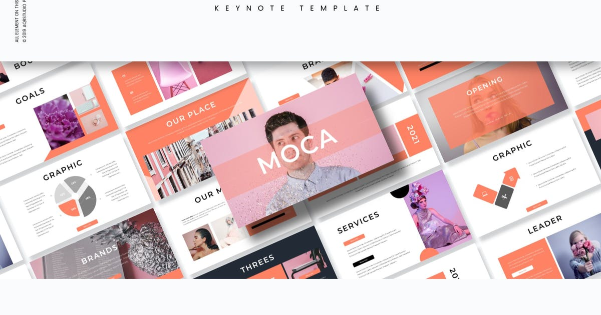 Download Moca - Keynote Template by aqrstudio