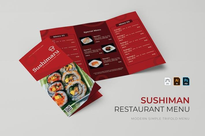 Sushiman | Restaurant Menu