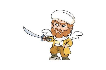 Arabian Commander Vol.1 - Character RG