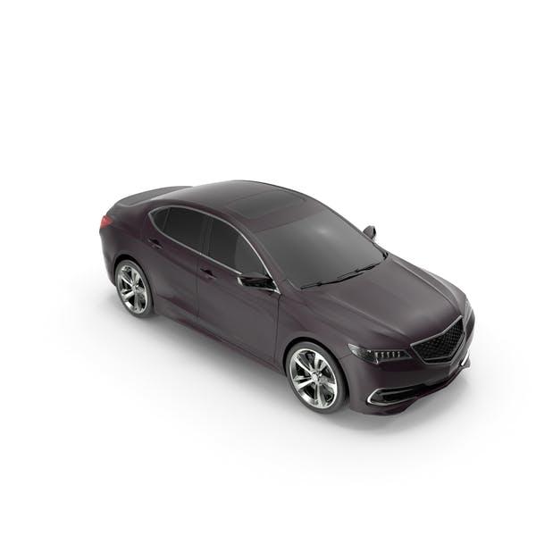 Luxury Sedan Generic Simple Interior