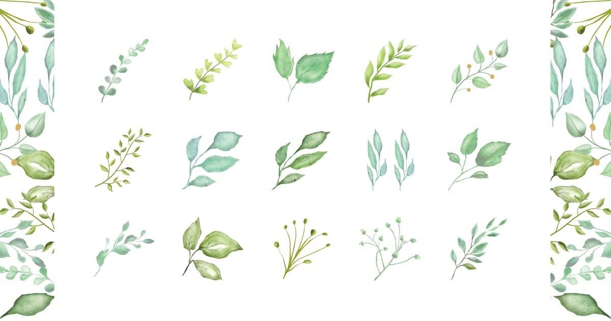 Download Leaf Watercolor by deemakdaksinas