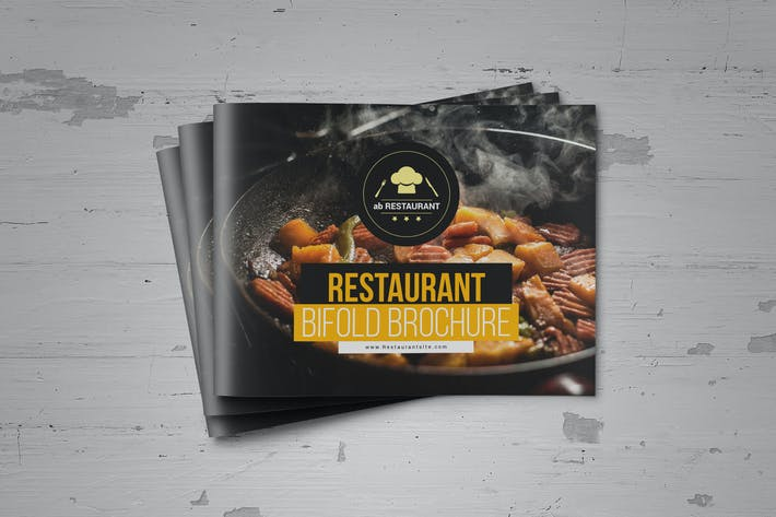 food restaurant brochure by designsoul14 on envato elements