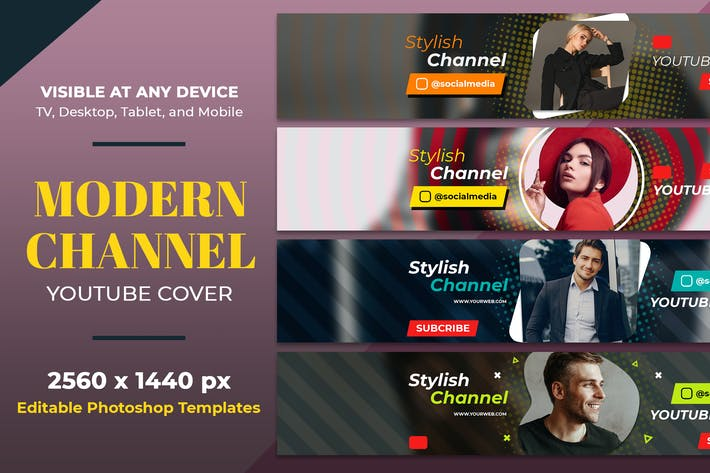 Thumbnail for Modern Fashion Youtube Cover