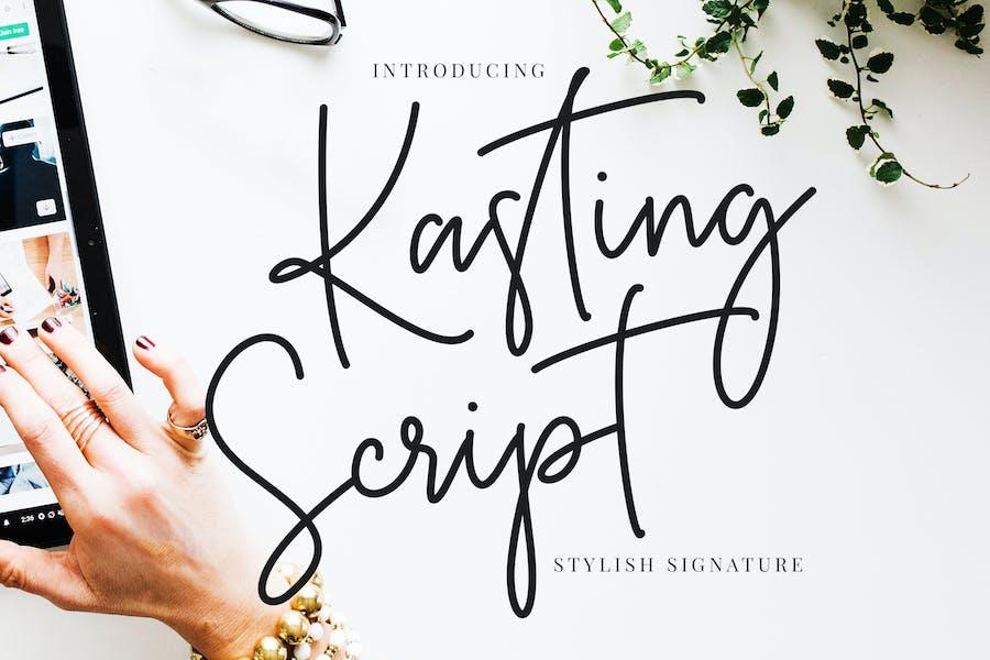 Kasting Script Signature Instagram Font