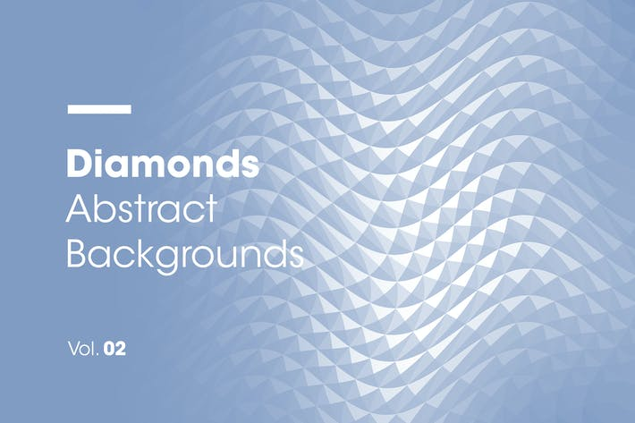 Cover Image For Diamonds | Abstract Backgrounds | Vol. 02