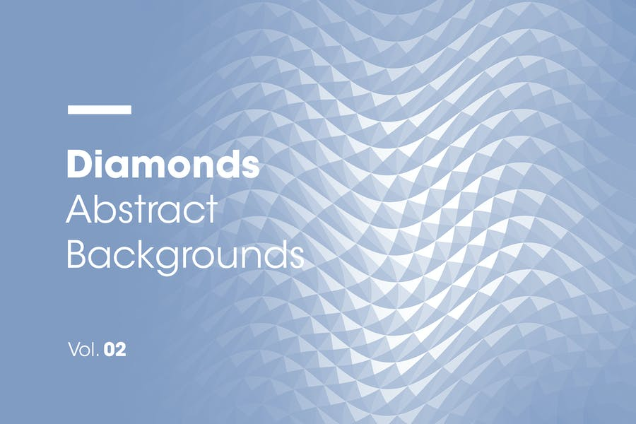 Diamonds | Abstract Backgrounds | Vol. 02