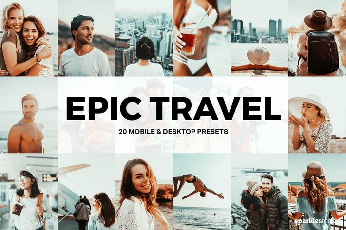 Thumbnail for 20 Epic Travel Пресеты Lightroom и LUT