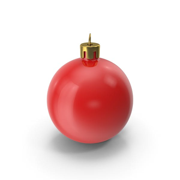 Thumbnail for Red Christmas Tree Ornament