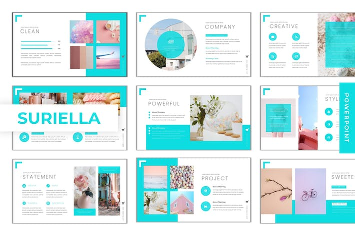 Cover Image For Suriella - Powerpoint Template