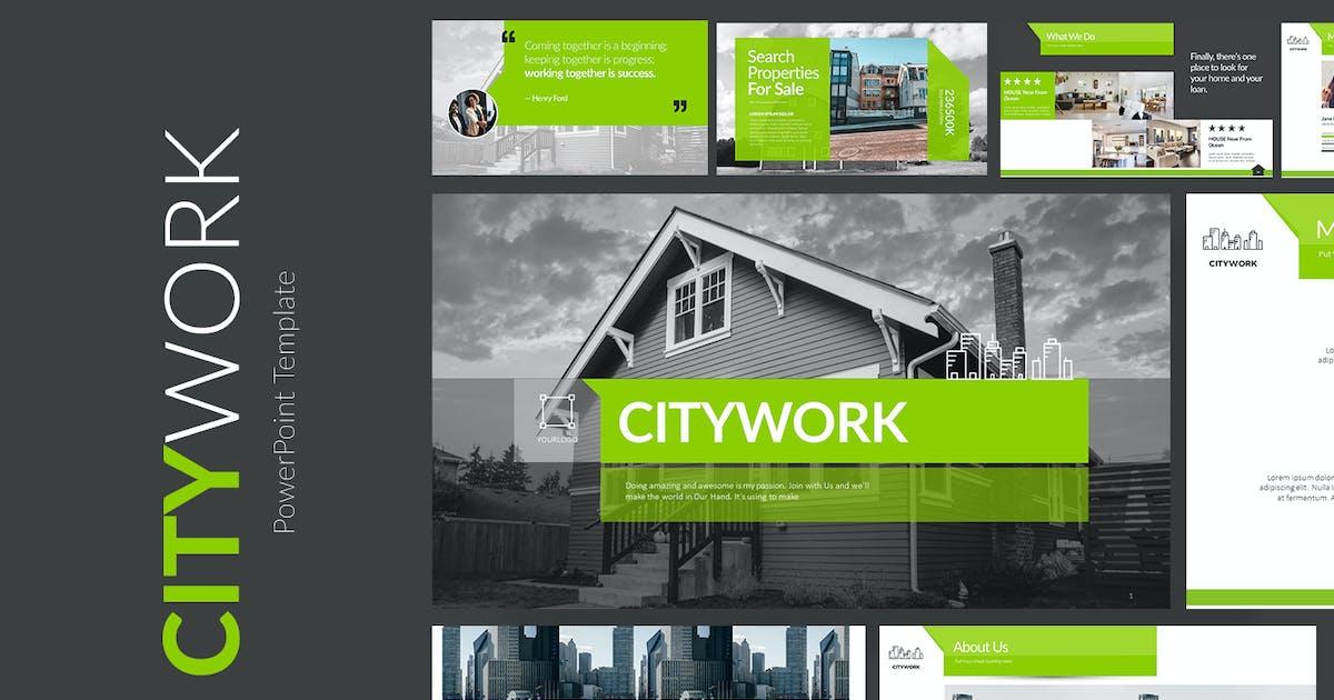 Download CITYWORK Google Slides by Jhon_D_Atom