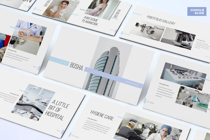 Thumbnail for Bosha - Medical Google Slide Template