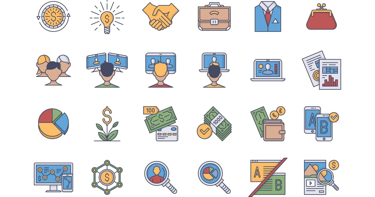 Download 35 Business Icons by polshindanil