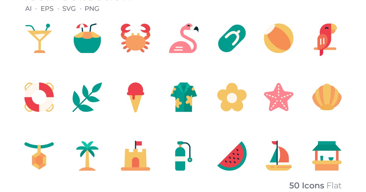 Download Tropical Color Icon by GoodWare_Std