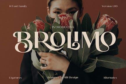 Bromilo Typeface