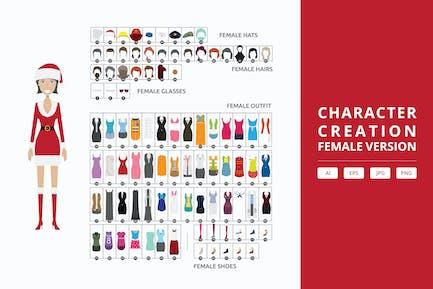 Female - Figur-Creation Kit