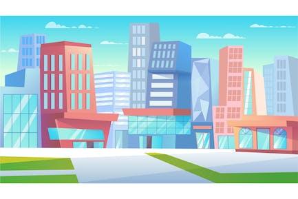 Cityscape - Illustration Background