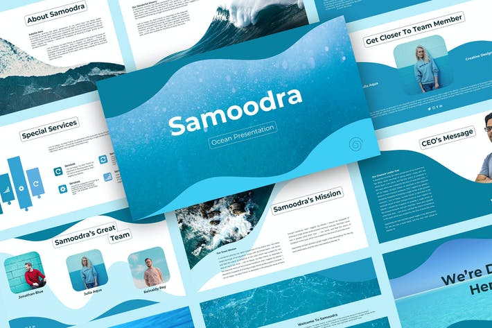 Thumbnail for Samoodra – Creative Keynote Template