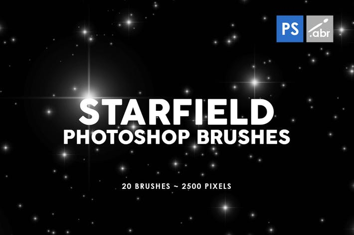 Thumbnail for 20 Starfield Photoshop Stamp Brushes