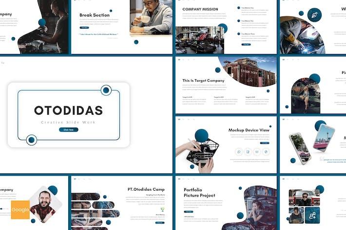 Otodidas - Creative Google Slides Template