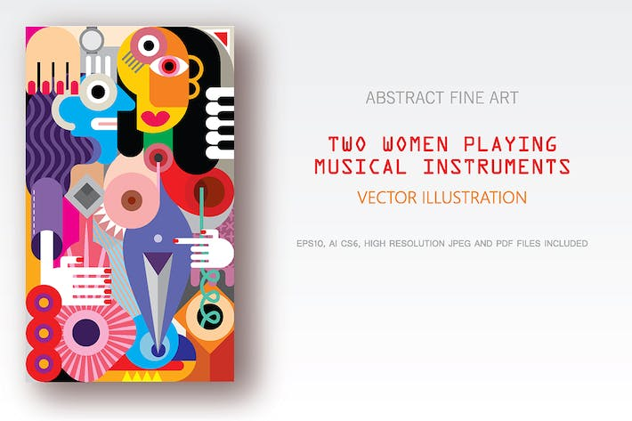 Thumbnail for Two Women Playing Musical Instruments