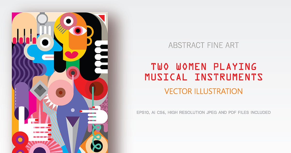 Download Two Women Playing Musical Instruments by danjazzia