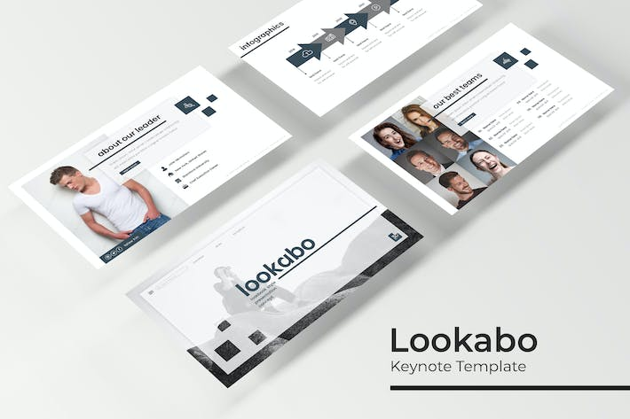 Cover Image For Lookabo - Plantilla de Keynote