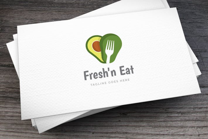 Thumbnail for Fresh Avocado Logo Template