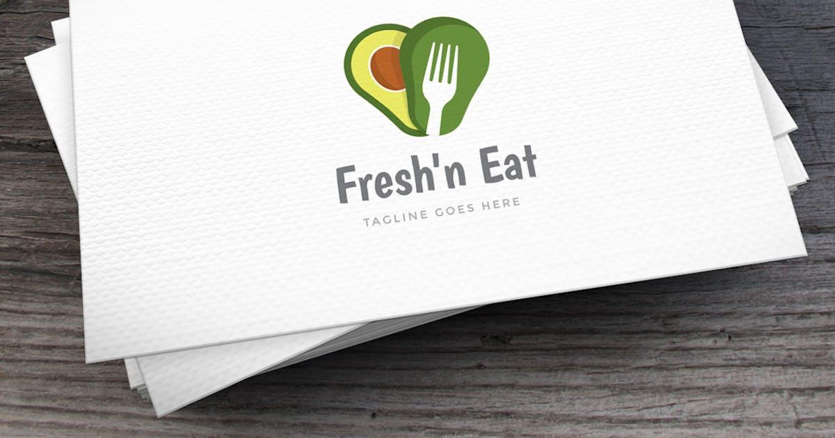 Download Fresh Avocado Logo Template by empativo