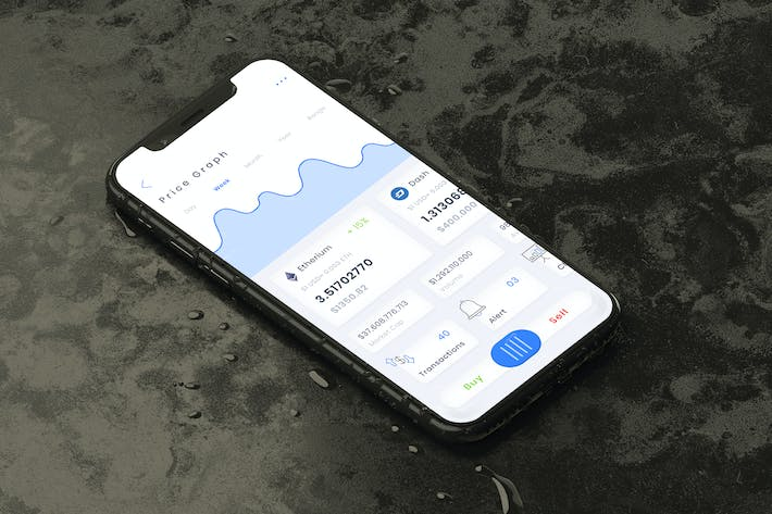 Thumbnail for Crypto Wallet Dashboard Mobile Ui - T