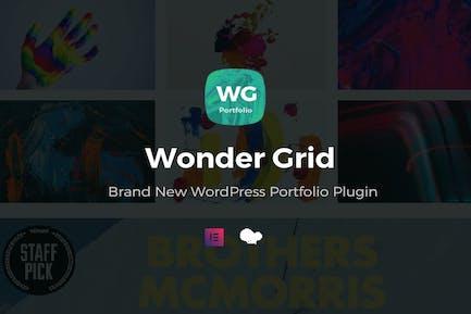 Wonder Grid - Portfolio Plugin