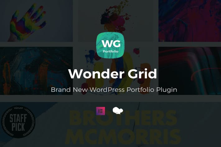 Thumbnail for Wonder Grid - Portfolio Plugin
