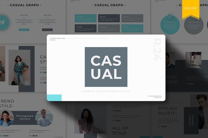 Thumbnail for Casual | Google Slides Template