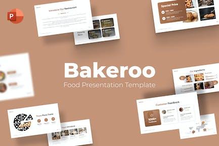 Bakeroo Food Bakery Powerpoint Template
