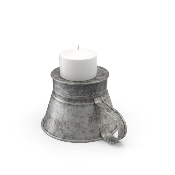 Cover Image for Candle in Candleholder