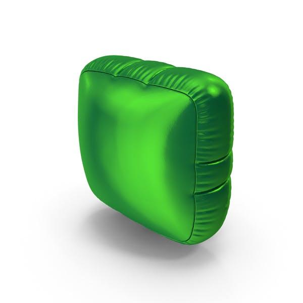 Thumbnail for Foil Balloon Period Green