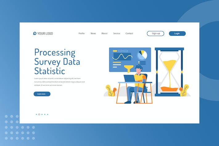 Thumbnail for Processing Survey Data Statistic Landing Page