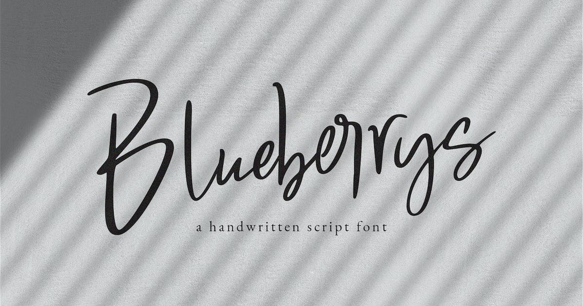 Download Blueberrys Signatures by templatehere