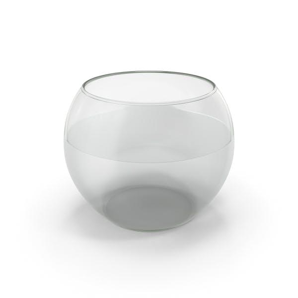 Round Glass Aquarium