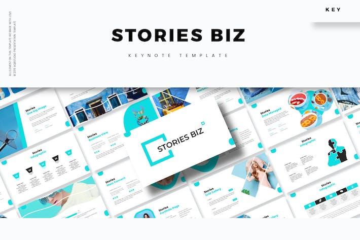 Thumbnail for Истории Biz - Шаблон Keynote