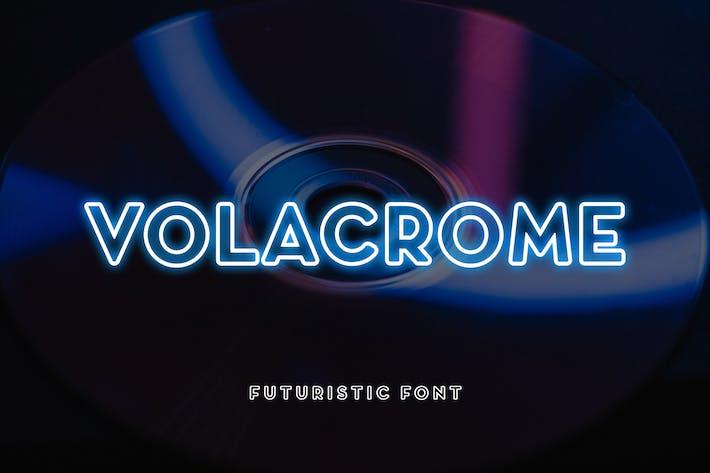 Thumbnail for Volacrome sans emSerif police d'affichage