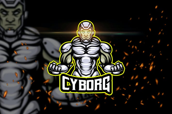 Cyborg - Esport & Mascot Logo Template