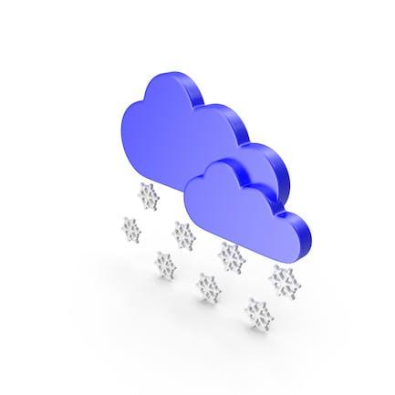 Meteorology Symbol Snow
