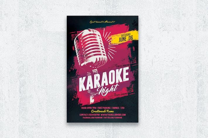 Thumbnail for Karaoke Night Flyer