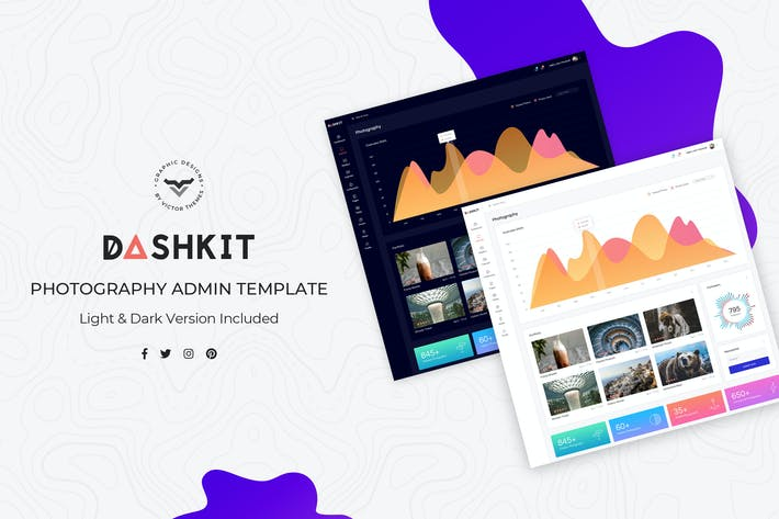 Thumbnail for Photography Admin Dashboard UI Kit