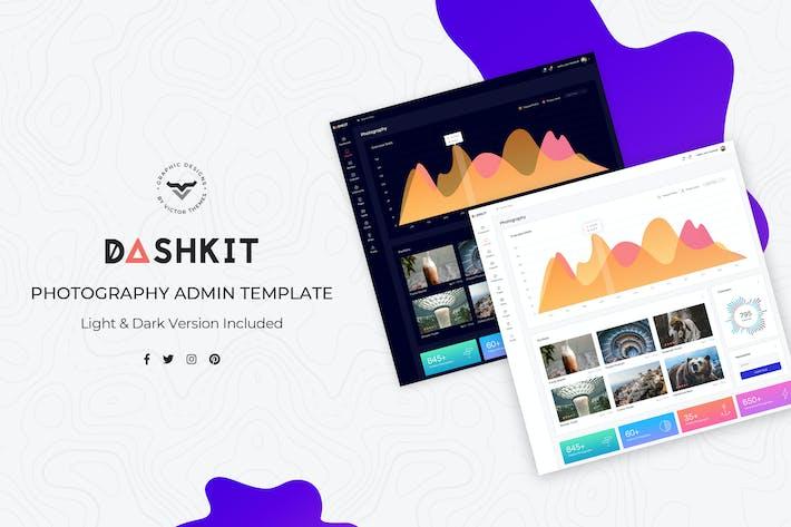 Photography Admin Dashboard UI Kit