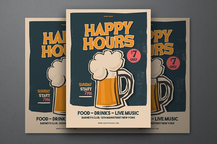 Thumbnail for Happy Hours Flyer