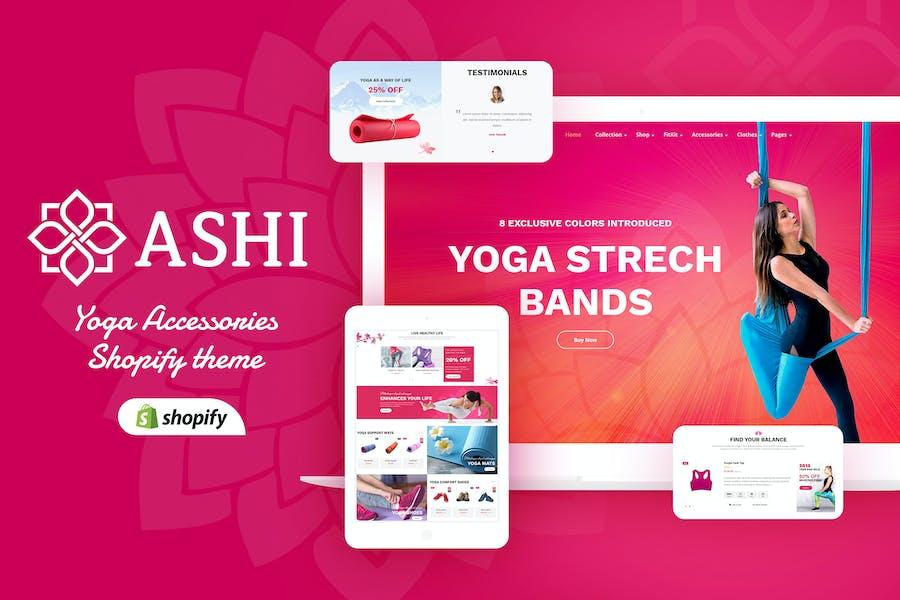 Ashi | Yoga, Fitness Shopify Theme