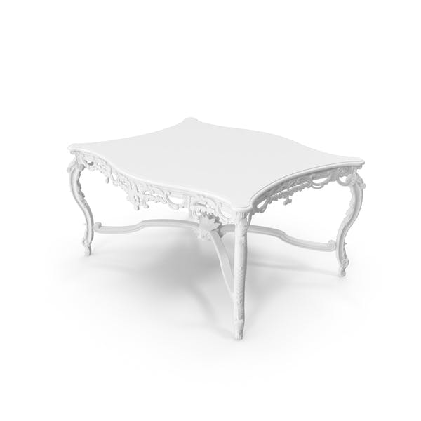 Thumbnail for White  Baroque Coffee Table