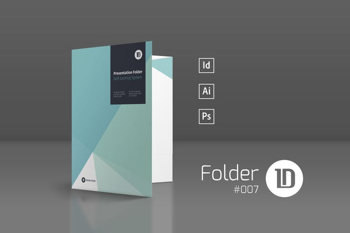 Thumbnail for Presentation Folder Template 007