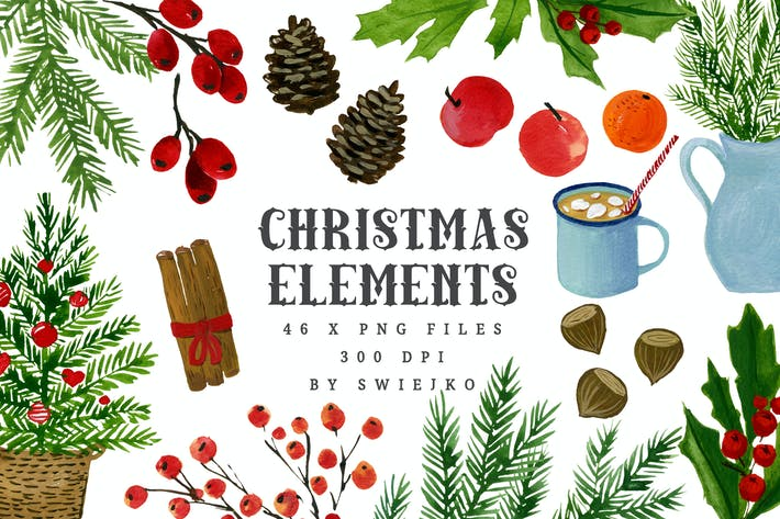 Thumbnail for Christmas elements I